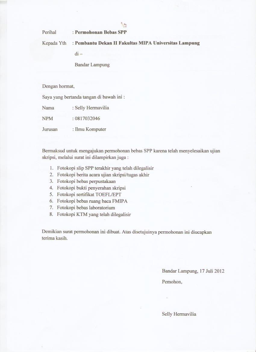 Gambar Contoh Surat Keterangan Bahasa Inggris Pelautscom Picture